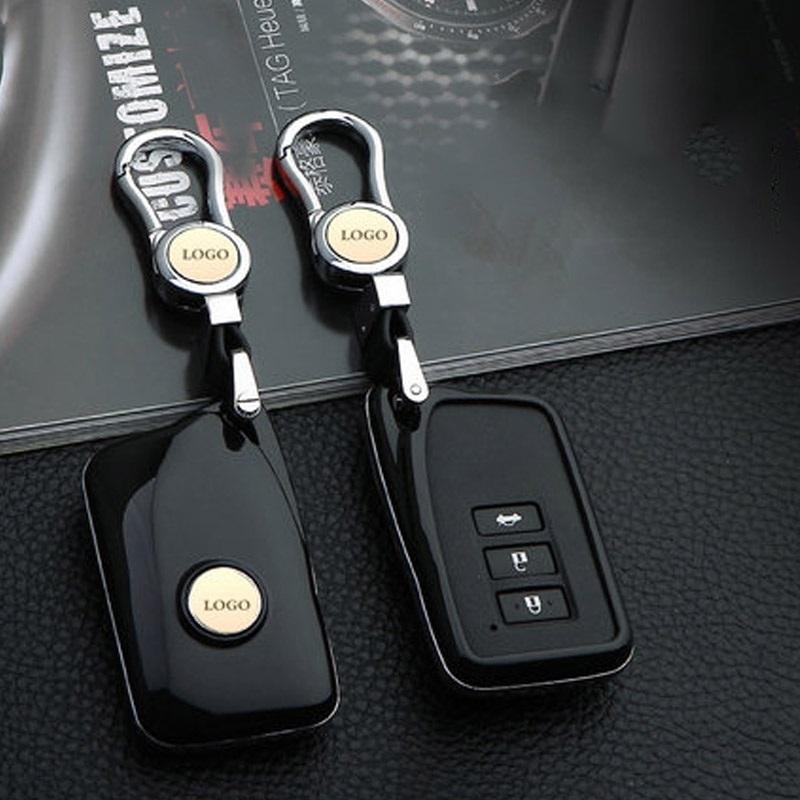雷克萨斯钥匙包ES250NX200t gs300h es350IS汽车钥匙壳套扣 红色