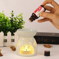 香薰灯精油灯卧室内香薰炉创意手工陶瓷送蜡烛家用精油熏香炉