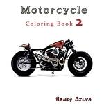 【预订】Motorcycle: Coloring Book 2: Design Coloring Book