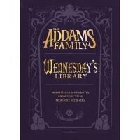 英文原版 亚当斯一家:周三图书馆 精装毛边书 The Addams Family: Wednesday's Librar