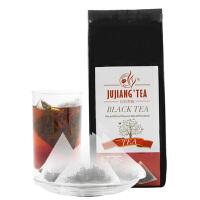 JUJIANG巨匠 透明三角立体茶包 茉莉红茶 精选红茶 花茶5gX30包