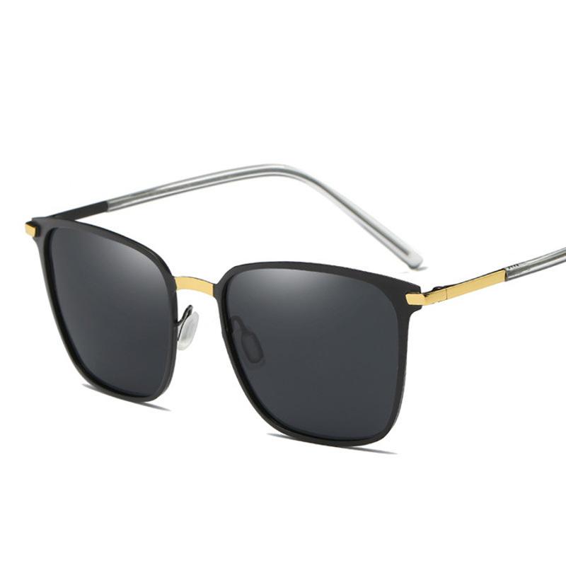 潮男士时尚方形太阳镜金属方框偏光墨镜彩膜女开车司机夜视镜超轻 发货周期:一般在付款后2-90天左右发货,具体发货时间请以与客服协商的时间为准