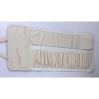 12支18支24支化妆刷包PU皮压扣刷包化妆工具便携收纳包折叠款空包 其它材质