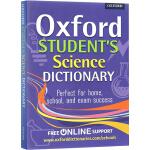 Oxford Student's Science Dictionary 约1000词 牛津英英词典 中学生科学词典 S
