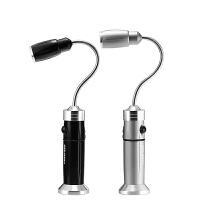 led多功能强光手电筒可充电远射汽检修维修工作灯带磁铁