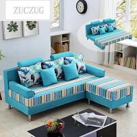 ZUCZUG沙发床可折叠小户型客厅双人单人简约现代多功能1.5布艺沙发