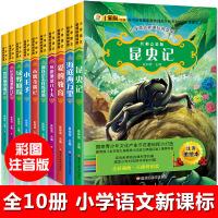 法布尔昆虫记爱的教育绿野仙踪小王子木偶奇遇记全10册正版书套装一二四五六年级课外书必读老师班主任