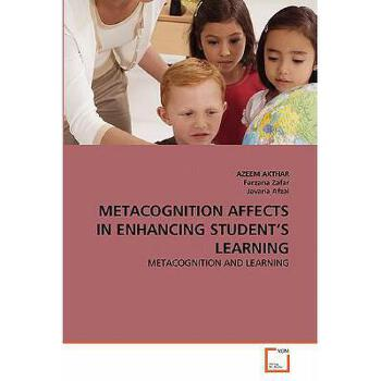 【预订】Metacognition Affects in Enhancing Student's Learning 美国库房发货,通常付款后3-5周到货!