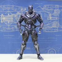 ?漫威人偶 死侍黑豹蜘蛛侠蝙蝠侠美国队长钢铁侠玩具模型可动 PA改