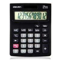 得力1521A桌面计算器12位数大屏幕大加号商店太阳能双电源