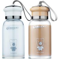 玻璃杯便携可爱清新家用茶杯情侣运动水瓶韩版儿童水杯