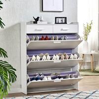 超薄翻斗简易鞋架经济型家用鞋柜收纳防尘门口小鞋架子组装省空间