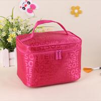 字母韩国小号容量化妆包收纳包手拿包防水可爱美容旅行洗漱包