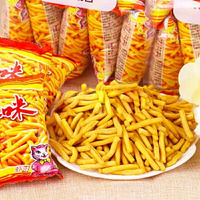 咪咪虾条18g*20包 休闲膨化食品经典怀旧儿童零食大礼包 两种口味可选