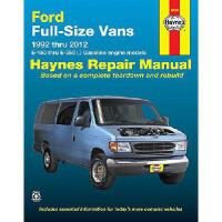 【预订】Ford Full-Size Vans 1992 Thru 2012: E-150 Thru E-350 -