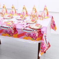 宝宝儿童聚会一次性餐具派对装饰用品主题套餐周岁宴布置品