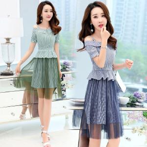 35岁到45的连衣裙女2018新款冷淡风显瘦超仙夏季小矮个子女生裙子