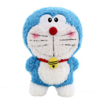 哆啦a梦公仔毛绒玩具机器猫抱枕叮当猫蓝胖子娃娃儿童生日礼物女 图片色