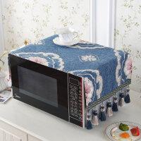 欧式多色雪尼尔微波炉盖巾盖布防尘罩微波炉罩烤箱罩套