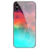 苹果x手机壳抖音iPhone8plus保护套玻璃全包防摔6plus个性男女款7简约创意星空6 苹果XS MAX-玻璃彩