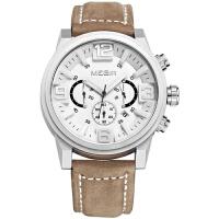 2018新款 美格尔(MEGIR)男士手表男表三眼夜光防水运动腕表手表 3010G