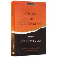现货英文原版 Crime and Punishment 罪与罚 英文小说 陀思妥耶夫斯基经典名著 正版进口英文书