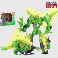 威将钢索闪光 送儿童礼物恐龙机器人模型益智玩具 嚎叫
