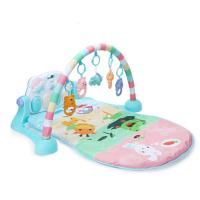 新生儿健身器宝宝踢踏钢琴健身架婴儿玩具0-1岁3-6-12个月抖音 哄娃标准款式健身架