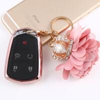 适用于凯迪拉克钥匙包XT5 XTS ATSL CT6专用改装汽车钥匙扣保护套