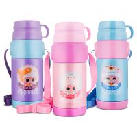 316不锈钢儿童保温杯小学生水杯两用便携幼儿园水壶