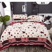 珊瑚毯子办公室午睡小被子冬季加厚学生宿舍床单人法兰绒毛毯