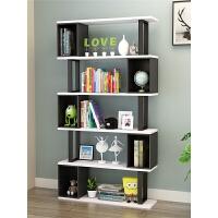 书架置物架客厅落地多层储物柜简约现代经济型办公室创意艺术书柜