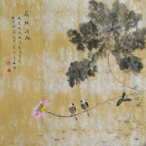 省美协   司新景   荷塘清趣   /2