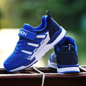 儿童鞋子男童鞋春秋季童鞋上新透气中大童运动鞋男孩网面跑步鞋子潮