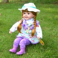 智能会说话的洋娃娃布娃娃儿童对话仿真玩具女孩生日礼物白雪公主