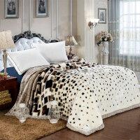 毛毯被子加厚保暖双层冬季珊瑚绒盖毯子单双人床单学生宿舍
