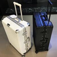 铝框拉杆箱万向轮商务旅行箱密码行李箱子20男女