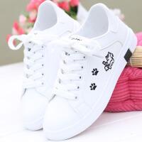 2018秋冬季新款小白鞋女韩版百搭休闲鞋学生棉鞋板鞋平底鞋甜美女