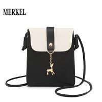 19时尚撞色竖款小包女包韩版休闲包包单肩斜跨小包包BLL0806-1