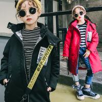 2017冬季新款男童女童羽绒服童装外套儿童羽绒服中大童中长款上衣女  SDM1723全弹