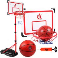 2.4米儿童可升降篮球架青少年投篮框架室内户外带轮子篮球架游戏玩具