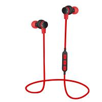 乐优品 P10蓝牙耳机可插内存卡MP3无线入耳塞式跑步运动适用P9华为mate20荣耀10V9等 红色 官方标配