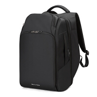 双肩包男士大容量商务休闲旅行出差电脑包多功能大号背包