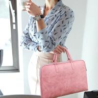 男女时尚笔记本电脑包13.3寸14寸15.6寸手提单肩防水震