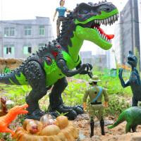 儿童男孩恐龙玩具电动下蛋仿真动物遥控霸王龙