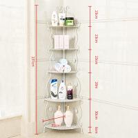 家居生活用品浴室置物架铁艺落地卫生间收纳整理厕所脸盆架卫浴角架三角置物架