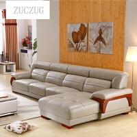 ZUCZUG皮艺沙发组合真皮进口头层牛皮中厚简约现代大小户型客厅家具 组合