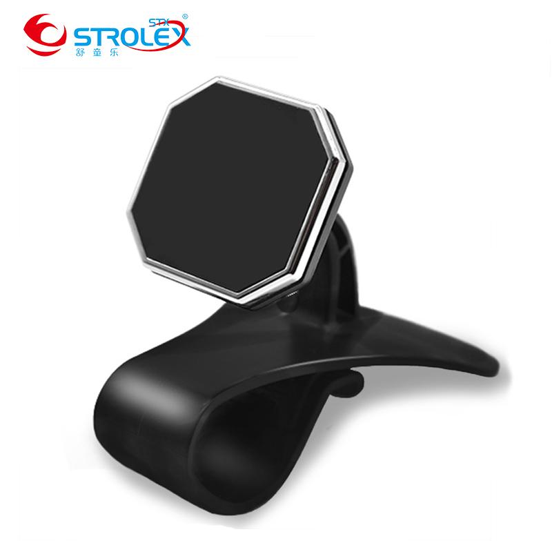 车载手机架汽车仪表台多功能款导航卡扣式夹子创意通用型支架SN7456