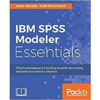 【预订】IBM SPSS Modeler Essentials 9781788291118