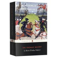 正版现货 亚瑟王之死1 英文原版 Le Morte d'Arthur Volume 1 亚瑟王与圆桌骑士传奇 全英文版